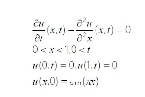 حل  عددی مسئله انتقال حرارت ناپایای یک بعدی با سه روش مختلف در فرترن 90 (همراه با گزارش کار)